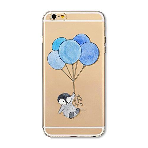 iPhone 5S Hülle, iPhone SE HandyHülle Silikon Durchsichtig Slim Schutzhülle für 4.0