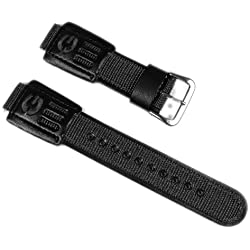 Casio Replacement Band Watch Band 16mm leatherette/Textile Strap DW-003B DW-9051