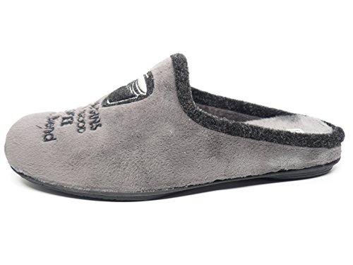 Vul-Ladi, Pantofole donna grigio Size: 45