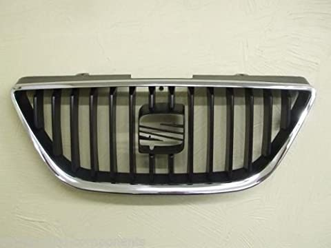 Seat Ibiza Front Grille Grill Bumper Radiator New NO BADGE 2008-2011