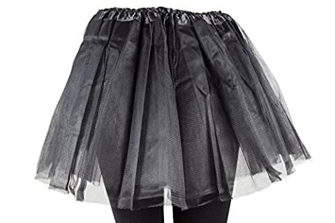 Damen Tütü Tutu Minirock Petticoat Tanzkleid Ballettrock Pettiskirt Unterrock in