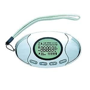2-in- 1 podomètre avec analyseur de graisse corporelle compteur de calories