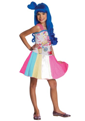 (Child Katy Perry Candy Girl Fancy dress costume Small)