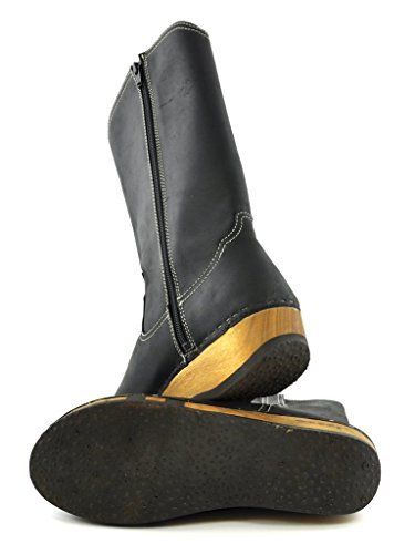 Woody Damen Texas Stiefel Schwarz (Nero)