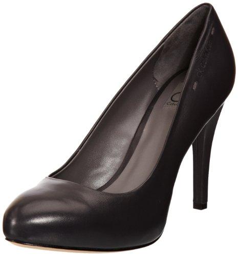 Calvin Klein Anne Nappa, Escarpins Femme Noir (anthracite)