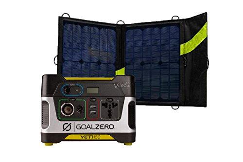 Goal Zero Solar Generator Komplett Set 13W