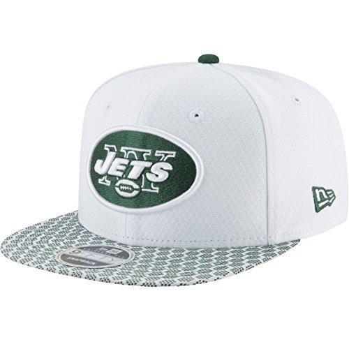 bcef295f55d9b New Era NFL NEW YORK JETS Authentic 2017 Sideline 9FIFTY Snapback Game Cap,  Größe