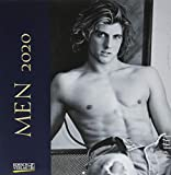 Men 2020: Broschürenkalender mit Ferienterminen. Erotik-Kalender in schwarz weiß. 30 x 30 cm -