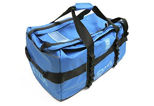 Silva - Borsone impermeabile, colore: blu, Blu (blu), 75 litri