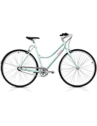 Finna Cycles Breeze Bicicleta, Mujer, Turquesa (Fresh Cupcake), S
