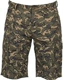 FOX Chunk Lightweight Cargo Shorts Camo - Hose, Angelhose kurz, Kurze Hose zum Angeln, Anglerhose, Größe:L