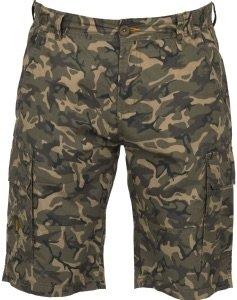 Fox Chunk Lightweight Cargo Shorts Camo - Hose, Angelhose kurz, Kurze Hose zum Angeln, Anglerhose, Größe:L -