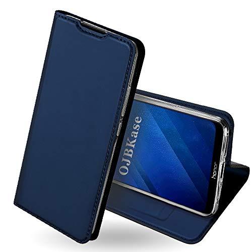 OJBKase Honor 8X Hülle, Premium Slim PU Leder Handy Schutzhülle [Standfunktion] Hülle/Cover /...