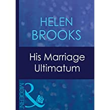 His Marriage Ultimatum (Mills & Boon Modern) (Dinner at 8, Book 1)