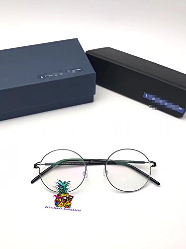 day spring online shop Full-Rim Frame Made Entirely of Ultra-Light Titanium Wire Glasses Flexible-Black