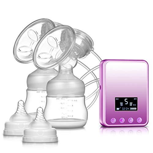 LXLLY Écran à Cristaux liquides de Conversion de fréquence de réduction de Bruit de Massage électrique de Bouteille de Lait de Tire-Lait électrique Intelligent,C