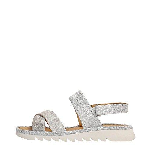 The FLEXX B222/02 Sandalo Donna Pelle Silver Silver 37