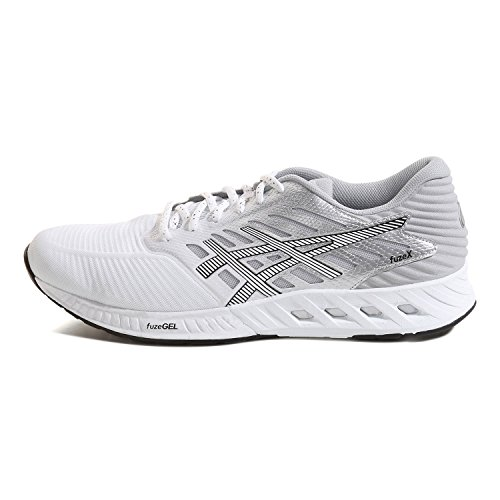 Asics Chaussures Running FUZE X homme white-black-silver
