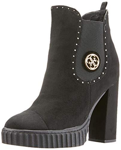 Guess Damen Gilorma Hohe Stiefel, Schwarz Black, 38 EU