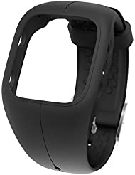 Polar Armband A 300 Charcoal Black Charcoal Black