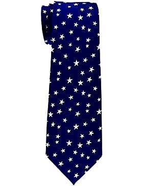 Retreez–estrellas Tejido microfibra corbata del niño–8–10años–Varios colores