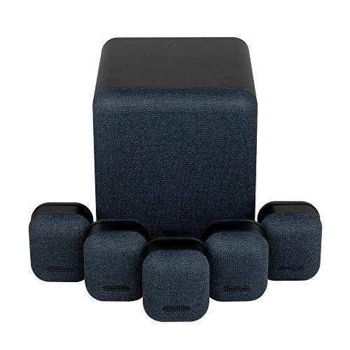 Monitor Audio MASS Surround Sound 5.1 Speaker Package (Midnight Black)
