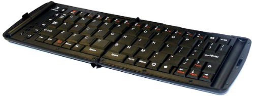 Kit Freedom Pro 2 Faltbare Bluetooth Tastatur, Deutsches QWERTZ Layout - Schwarz