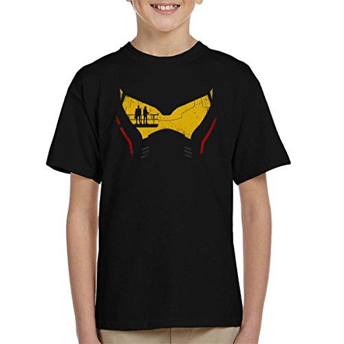 Cloud City 7 Pacific Rim Jaeger Head Kid's T-Shirt