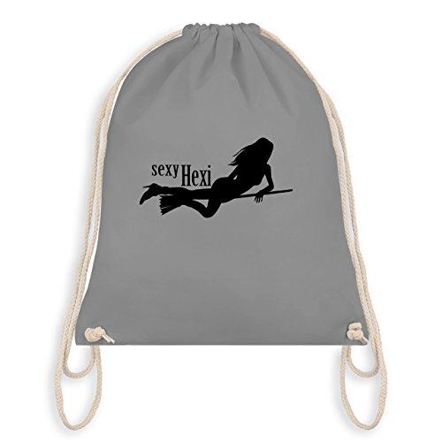 Halloween - sexy Hexy - Turnbeutel I Gym Bag Hellgrau
