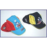 THOMAS SUN HAT BOYS FITS AGES 1 TO 4 RED