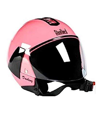 Steelbird Eve Dashing Open Face Women's Helmet (Pink, 580 mm)