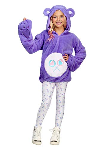 Care Bears Deluxe Tween Teilen Bär Hoodie Kostüm - L (Care Bears Kostüm Kinder)