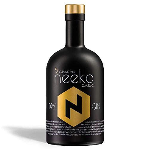 neekaCLASSIC PREMIUM DRY GIN | 0.5 L | Handcrafted in Germany | #EINZIG.NICHT.ARTIG.