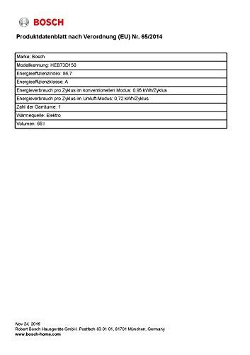 Bosch HND72PS55 Elektro Einbauherd - 3