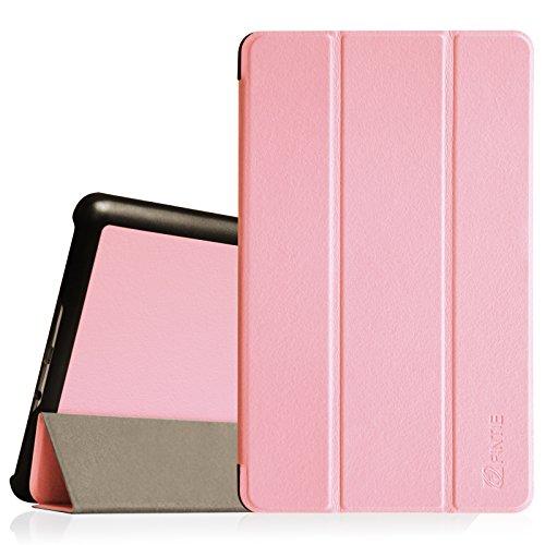 Fintie Samsung Galaxy Tab S 8.4(8,4Zoll) SlimShell Case-Matte Black-Hülle, Tasche-Super dünne leicht Ständer Cove mit Auto Sleep/Wake-Funktion, Pink