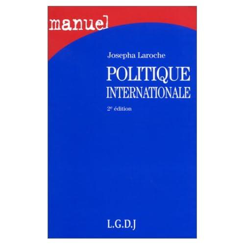 Politique internationale, 2e édition