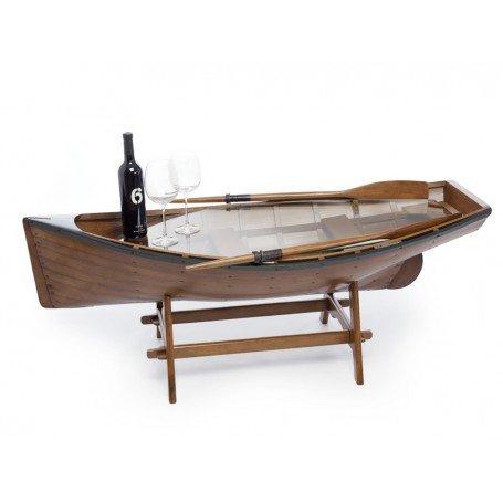 NAUTICALMANIA ' Nachttisch Boot bisquine -