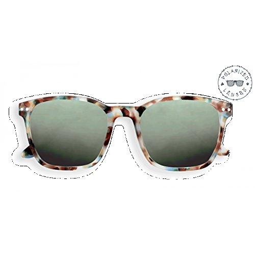 Izipizi Paris   Letmesee Sonnenbrille Sun Nautic (Polarized Lenses) #Sun Nautic Blue Tortoise +0,0