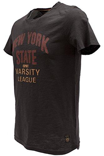ESPRIT Herren T-Shirt 016ee2k008 Anthracite