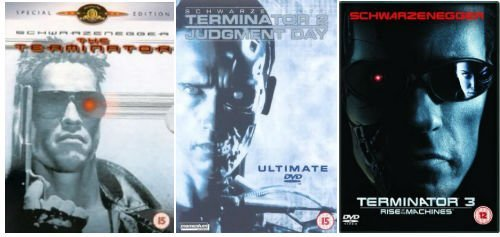 Terminator Ultimate Trilogy: Terminator 1 (2 Disc Editon) / Terminator 2: Judgement Day (2 Disc Edition) / Terminator 3: Rise of the Machines (2 Disc Edition) by Arnold Schwarzenegger