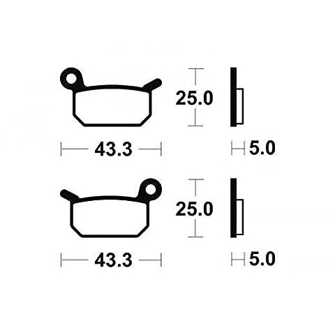 Plaquettes de frein bendix mo294 métal fritté - Bendix 382944