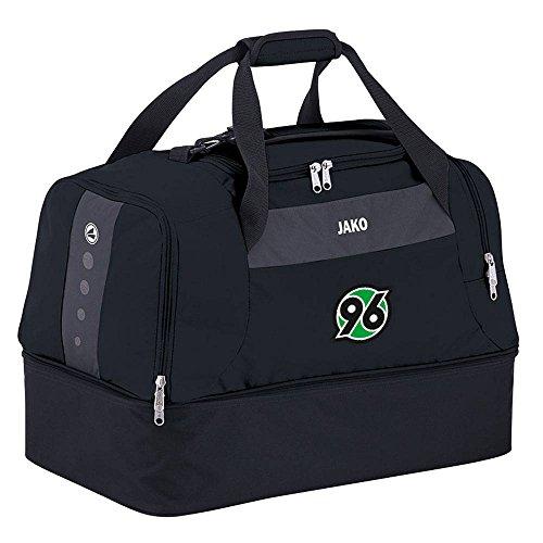 Jako Hannover 96 Sporttasche Striker m. Bodenfach - schwarz/grau schwarz
