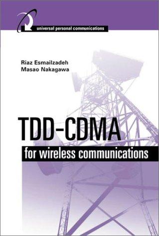 TDD-CDMA for Wireless Communications (Artech House Universal Personal Communications Series) Cdma-serie
