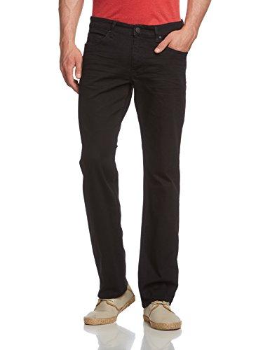 Cross Jeans Herren Relaxed Jeanshose New Antonio, Gr. W38/L36, Schwarz (Black 028) (Five-pocket Weites Bein Jeans)