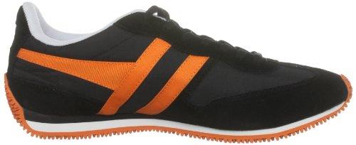 Gola , Chaussure de sport mixte enfant Noir - noir/orange
