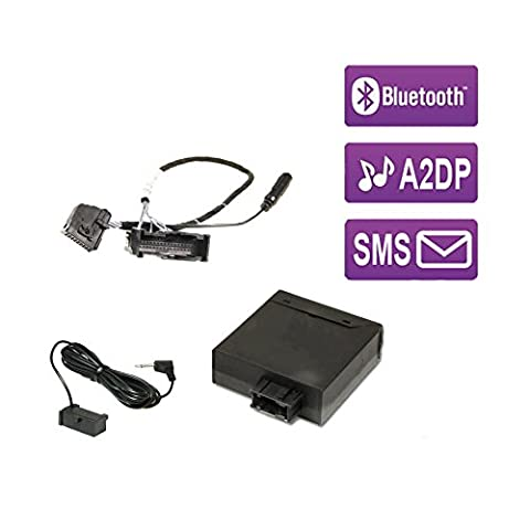 FISCON Bluetooth Umrüst-Set Basic (36495-1) für VW, Seat & Skoda mit UHV Low / Premium (MOST /