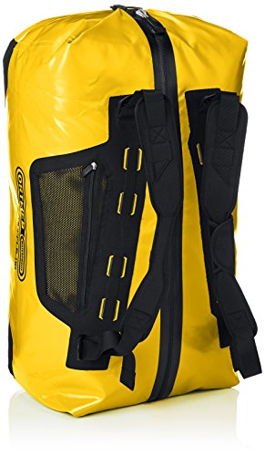 Ortlieb Duffle - Borsa Impermeabile da Viaggio 110 Litri GIALLO SOLE-NERO