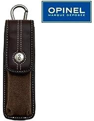 Opinel - Etui Marron Opinel Outdoor M - pour Couteau de longueur de manche 10 cm - 11 cm - 12 cm