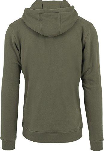 Mister Tee Pray 2.0 Hoodie Hooded Sweatshirt Kapuzenpullover mit Aufdruck für Damen und Herren olive