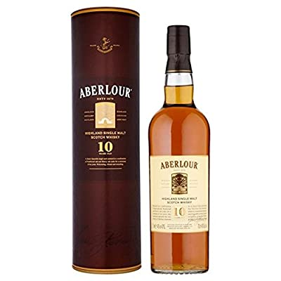 Aberlour 10 Year Old Speyside Malt Whisky 70cl - (Pack of 2)